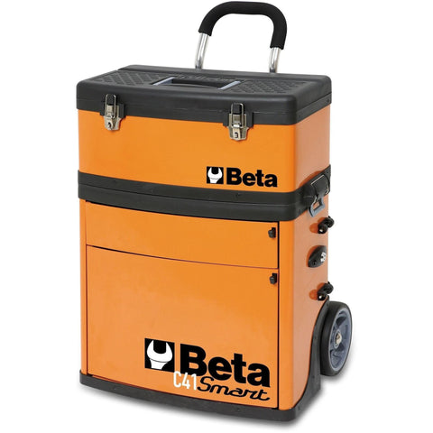 Beta Tools - Two-Module Tool Trolley - C41S-Tool Trolley-Beta Tools-Torque Toolboxes