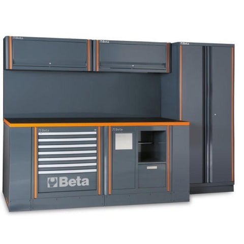 C55AB Workshop Equipment Combination-Garage Storage-Beta Tools-Torque Toolboxes