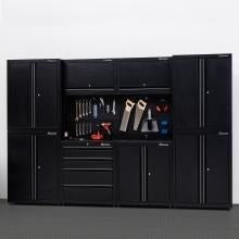 Montezuma 10 Piece Garage Storage Set 30POD-Garage Furniture-Montezuma-Torque Toolboxes