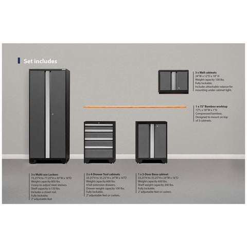 NewAge - Bold 3.0 Series - 10 PC Set-Garage Storage-NewAge-Torque Toolboxes