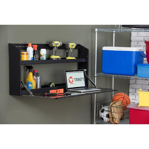 "Trinity 44"" Wall Cabinet with Fold-Down Work Surface-Tool Cabinet-Trinity-Torque Toolboxes"