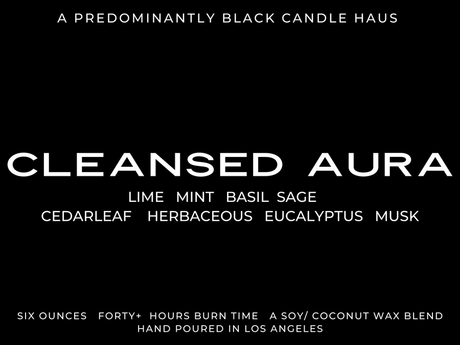 An Everyday Candle - Cleansed Aura