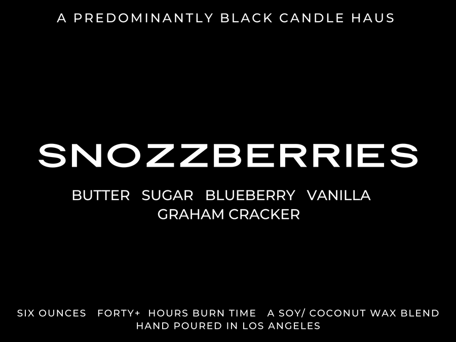 An Everyday Candle - Snozzberries