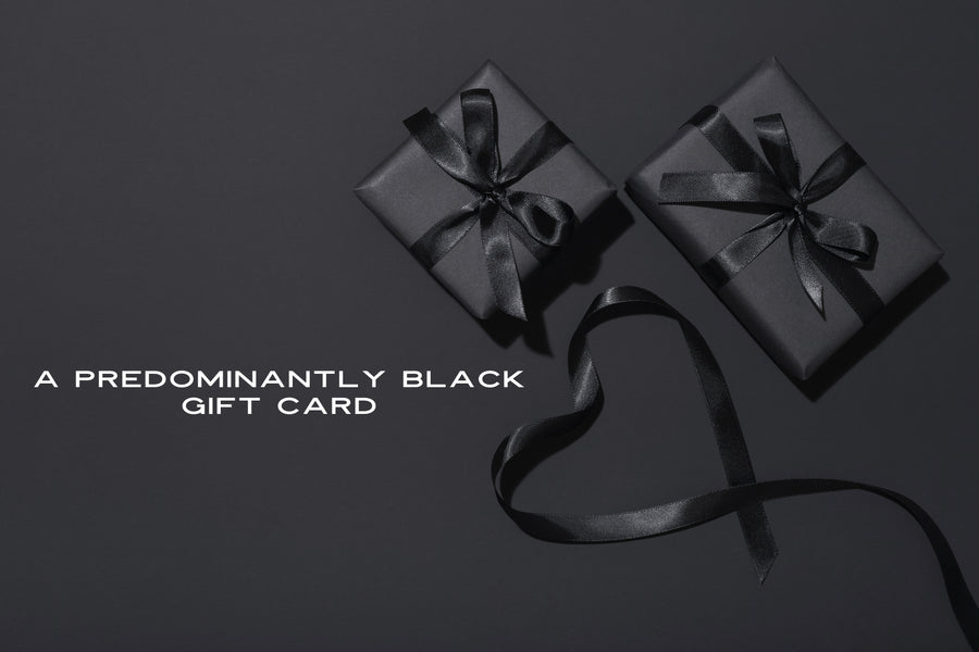 A Predominantly Black Gift Card