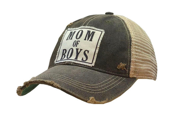 Mom of Boys cap