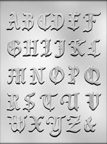 Alphabet Fancy Mould