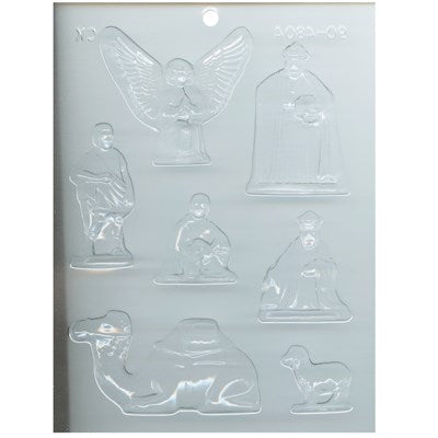 Nativity Scene Medium Mould - Special Order Item