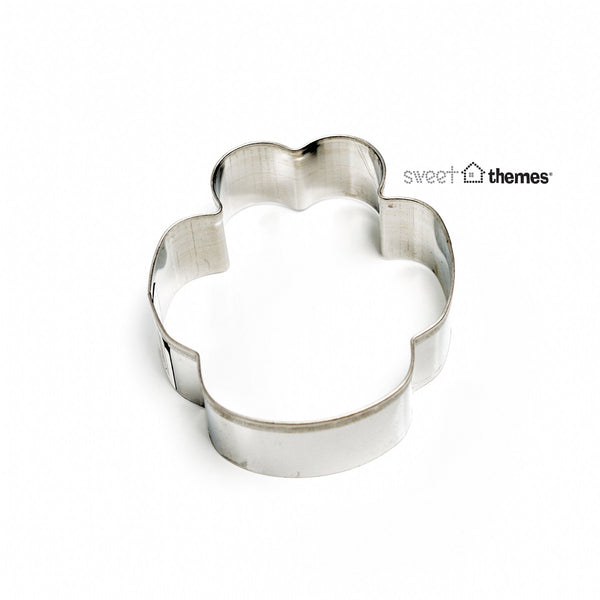 Paw Print Stainless Steel Cookie Cutter