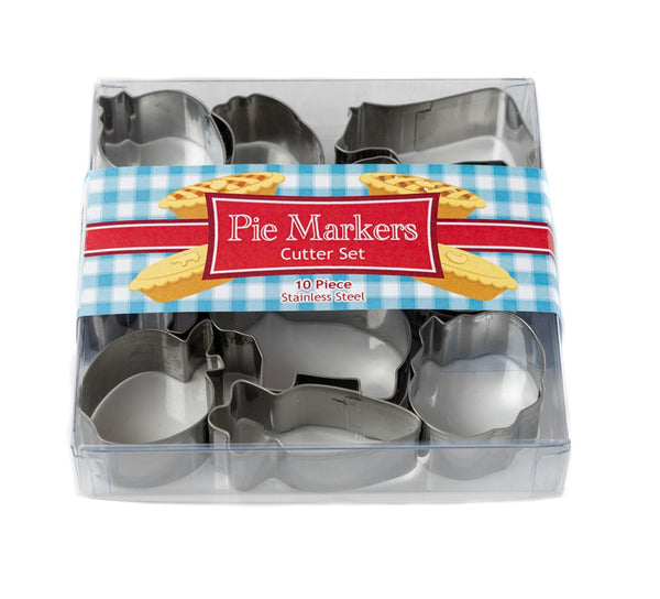 Pie Markers Boxed Mini Cutter Set 10pce