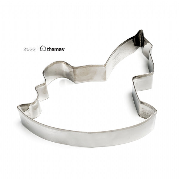 Rocking Horse Stainless Steel Cookie Cutter