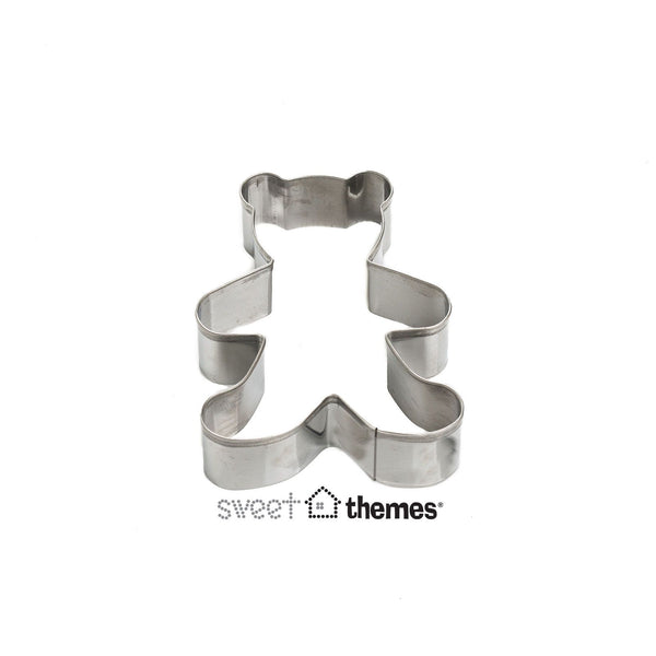 Teddy Bear Standing Stainless Steel Cookie Cutter