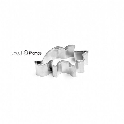 Triceratops MINI Stainless Steel Cookie Cutter
