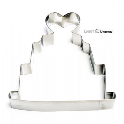 Wedding Cake Stainless Steel Cookie Cutter