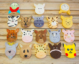 Animal Head Stainless Steel Cookie Cutter