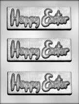 Happy Easter Bar Mould