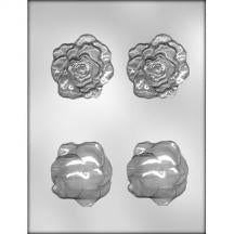 Rose Head 3D Mould