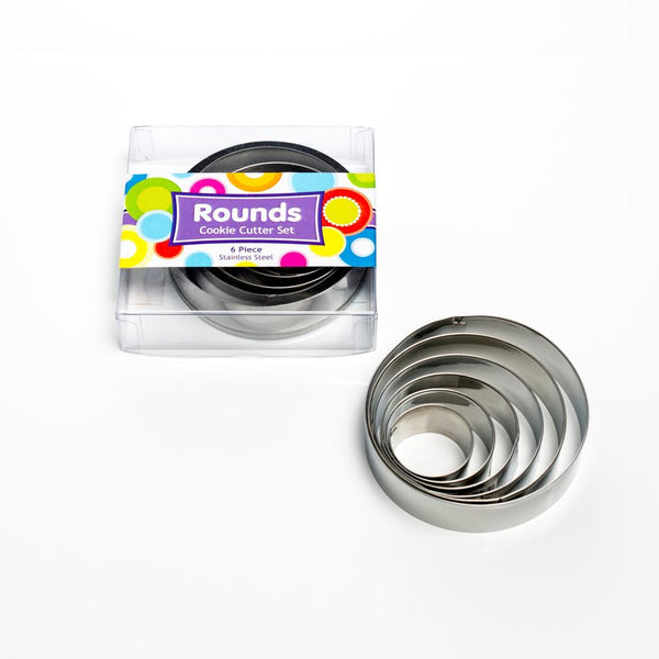 Round Boxed Cutter Set 6pce