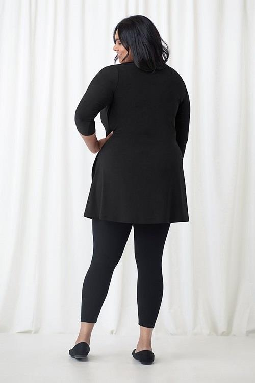 Sympli Trapeze Tunic Plus #23155G at www.threewildwomen.ca | Free shipping over $200 North America