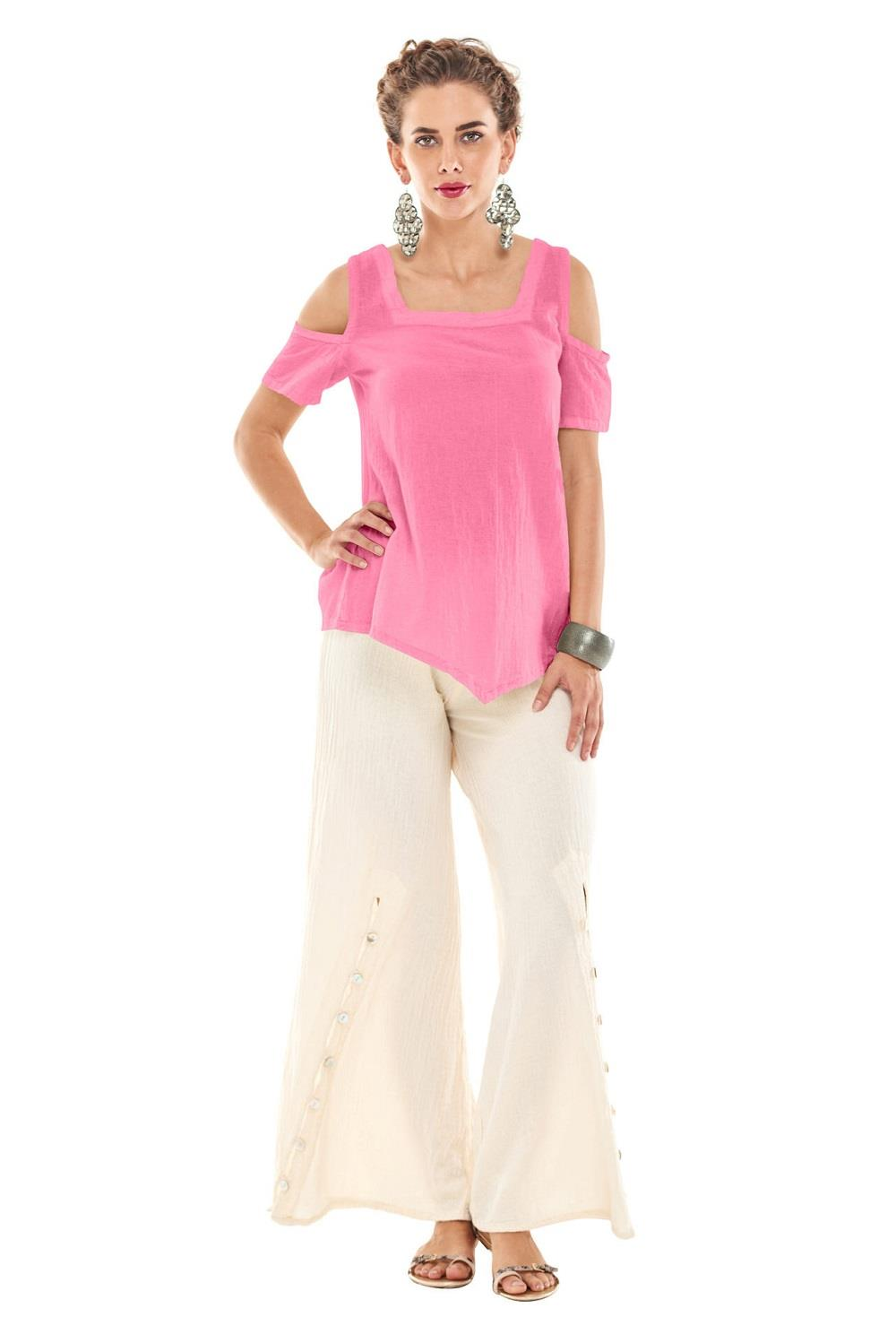 Oh My Gauze Dana Top at www.threewildwomen.ca | Free shipping over $200 North America