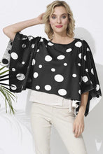 Parkhurst Dots Poncho #22211 at www.threewildwomen.ca | Free shipping over $200 North America