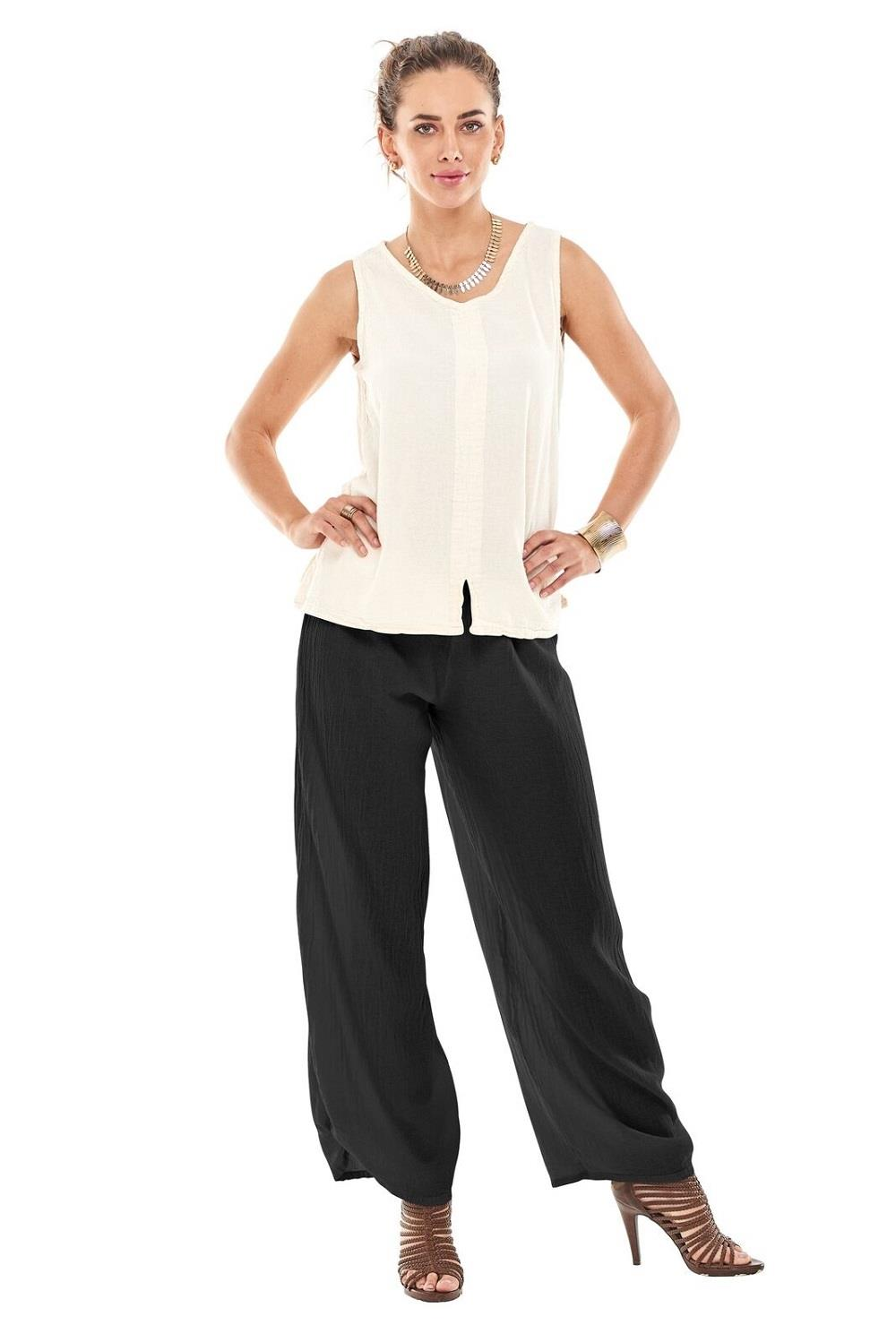 Oh My Gauze Polo Pants at www.threewildwomen.ca | Free shipping over $200 North America