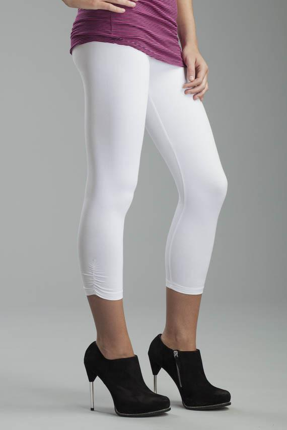Svelte Rusched Legging #2350 at www.threewildwomen.ca | Free shipping over $200 North America