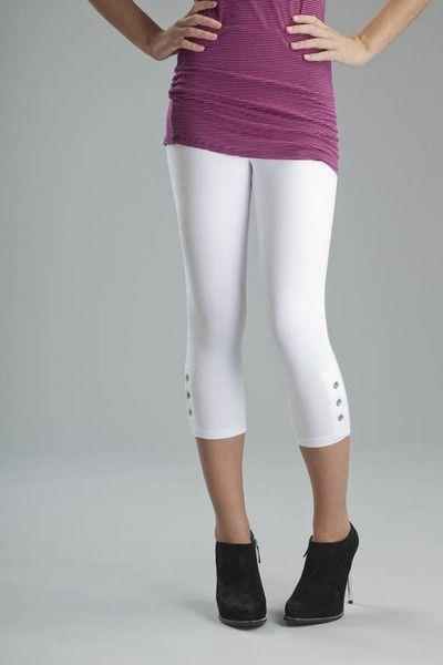 Svelte Grommet Legging #2353 at www.threewildwomen.ca | Free shipping over $200 North America