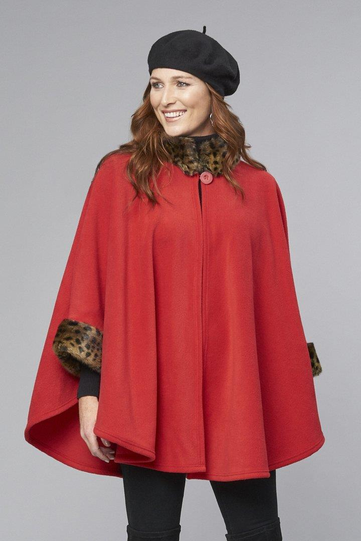 Parkhurst Desmona Cape at www.threewildwomen.ca | Free shipping over $200