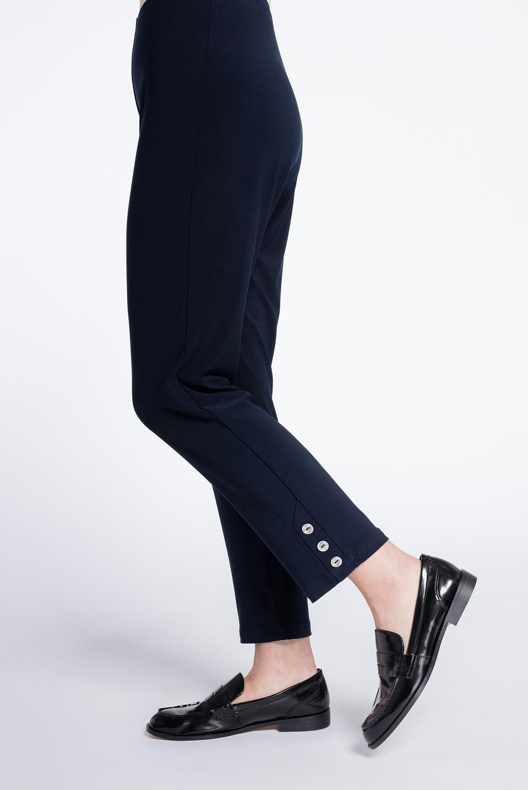 Sympli Charm Narrow Pant #27170 at www.threewildwomen.ca | Free shipping over $200 North America