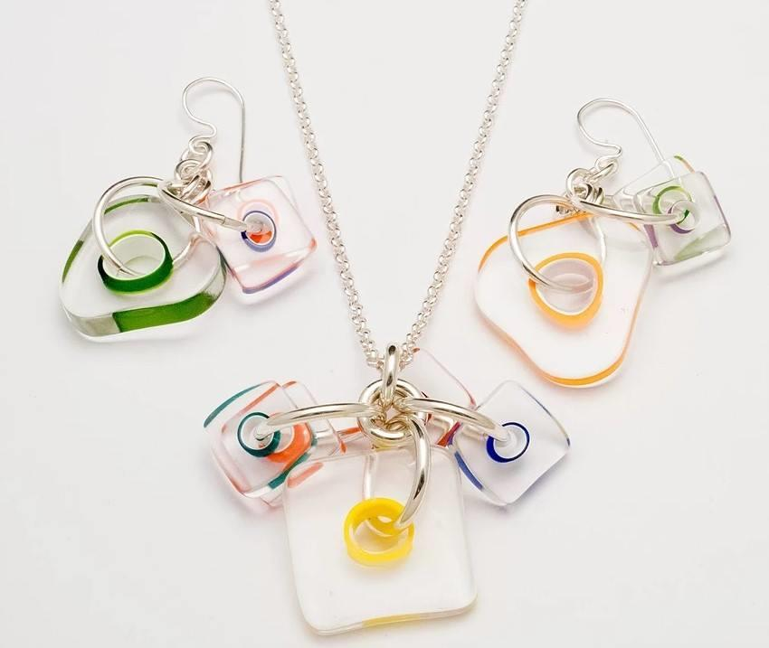 Art Jewel Designs Juicy Slices Pendant at www.threewildwomen.ca | Free shipping over $200 North America