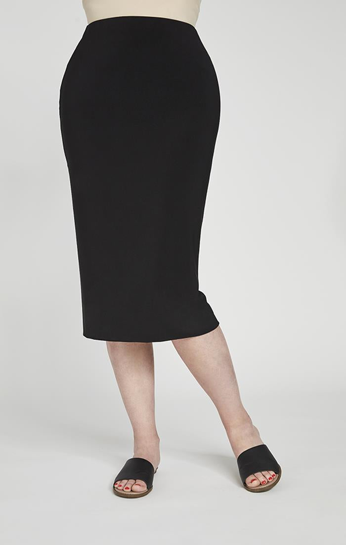 Sympli Tube Skirt #2634 at www.threewildwomen.ca | Free shipping over $200 North America