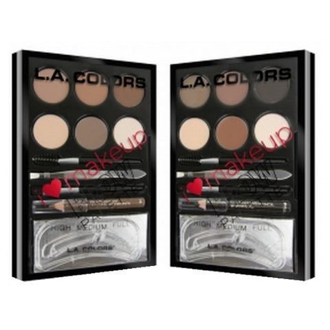 LA Colors Brow Palette