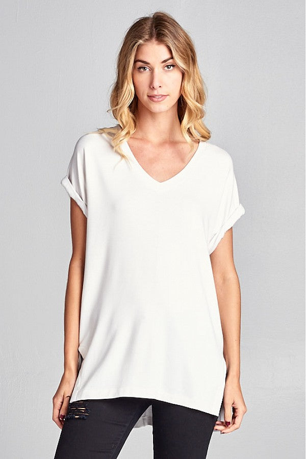 Everyday Soft V-Neck Tee