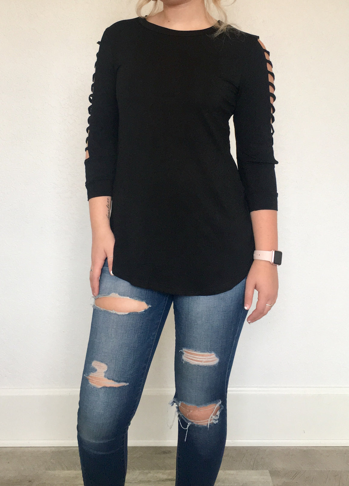 Stagecoach Sleeve Top