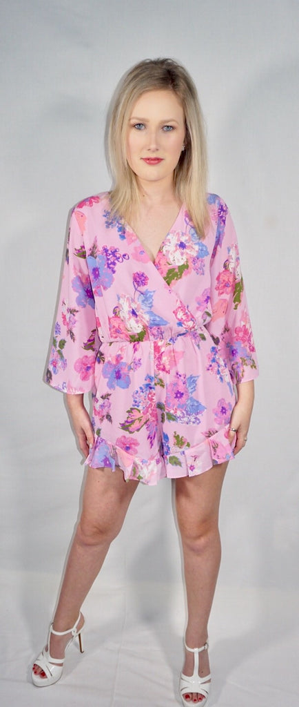 Fields of Florals Romper