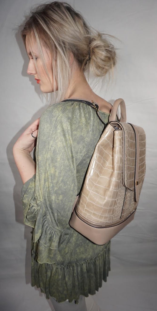 Isabelle Medium Sized Sleek Backpack