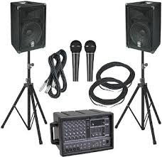 F. Sound Equipment