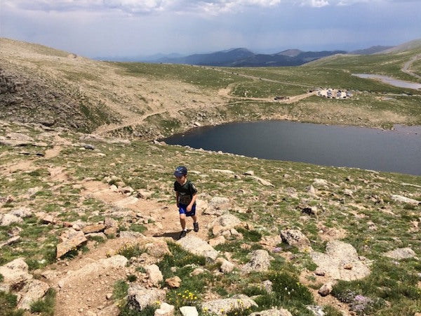 Which 14er is Best for Taking a Kid?