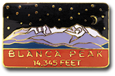 Blanca Peak - Elevation 14,345 feet