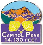 Capitol Peak - Elevation 14,130 feet