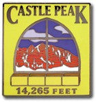 Castle Peak - Elevation 14,265 feet
