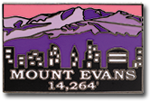 Evans - Elevation 14,264 feet