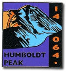 Humboldt Peak - Elevation 14,064 feet