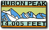 Huron Peak - Elevation 14,005 feet