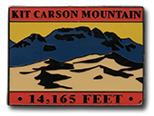 Kit Carson - Elevation 14,165 feet