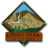 Longs Peak - Elevation 14,255 feet