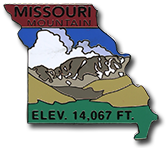 Missouri Mount. - Elevation 14,067 feet