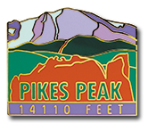 Pikes Peak - Elevation 14,110 feet
