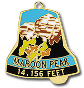 Maroon Peak - Elevation 14,156 feet