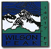 Wilson Peak - Elevation 14,017 feet